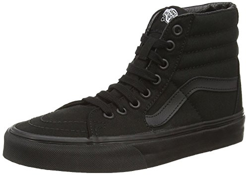 Vans Men's Sk8-Hi MTE Skate Shoe (43 M EU / 11.5 B(M) US Women / 10 D(M) US Men, Black/Black/Black)