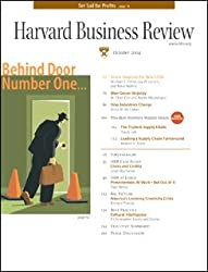 Harvard Business Review, October 2004