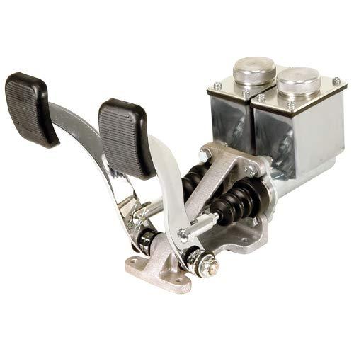 EMPI 16-2530-0 RACE TRIM Dual Pedal Assembly, 3/4
