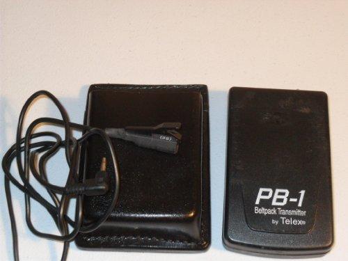 Telex PB-1 VB12 Wireless VHF Beltpack Mic Transmitter