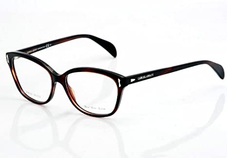95dd52ad22 Image Unavailable. Image not available for. Color  Giorgio Armani 818  Eyeglasses ...