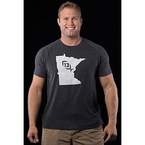 13 Fishing TSONYXMN-M Onyx State T-Shirt Minnesota - M&m For Direct Promotion Code