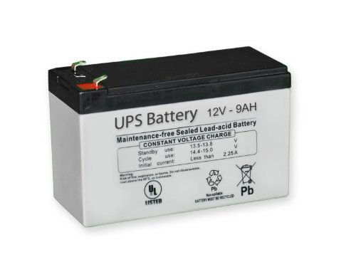 Replacement Battery - Compatible with APC BACK-UPS ES BE550G 1 Package contains 1 battery (VB9-12) Replacement for BE450G, BE550G, BE650G, BE650G1, BE750G Guaranteed compatibility with OEM battery