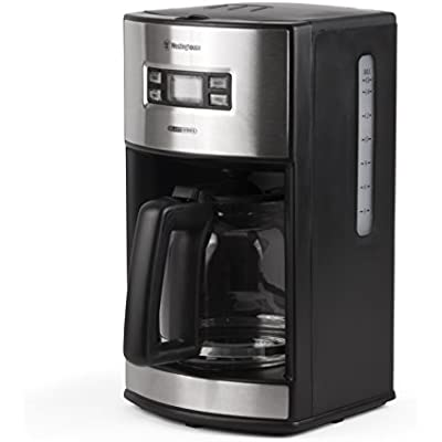 Click for Westinghouse WCM12BSSA Select Series 12 Cup Programmable Coffee Maker, Black - Amazon Exclusive