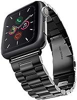 Evershop 42mm Watch Armband Kompatibel für Apple Watch 6 5 4 3 2 1, iWatch Armband Prämie Edelstahl Uhrenarmband Armband...