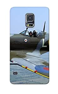 Fashion Tpu Case For Galaxy S5- Supermarine Spitfire Defender Case Cover For Lovers