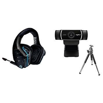 e7a9671ca14 Logitech G933 Headset and C922 Pro Webcam: Amazon.co.uk: Computers ...