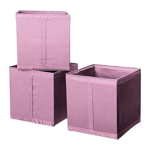 IKEA SKUBB rosa Aufbewahrungsbox (31x34x33cm) passend für PAX ...