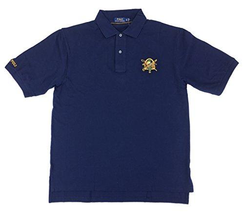 Polo Ralph Lauren Mens Big & Tall Cotton Classic Fit Mesh Equestrian Logo Polo Shirt