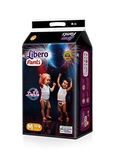 Libero Medium Size Diaper Pants  40 Counts