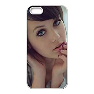 Celebrities Melissa Clarke iPhone 4 4s Cell Phone Case White DIY GIFT pp001_8937648