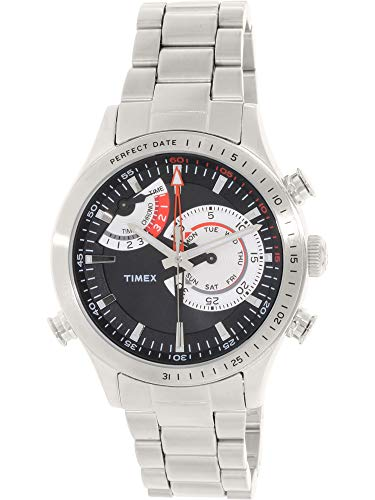 - Timex Unisex Intelligent Quartz¿ Chrono Timer Silver One Size
