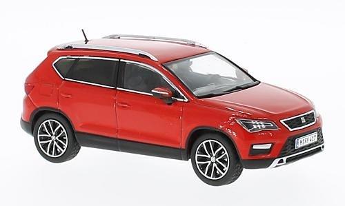 Seat Ateca Premium X 1:43 rot 2016 Fertigmodell Modellauto