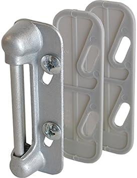 Crl Aluminum Screen And Storm Door Strike Plate Screen Door Hardware Amazon Com