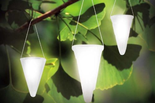 solar garden light cornet shaped solar lights solar tree lighting