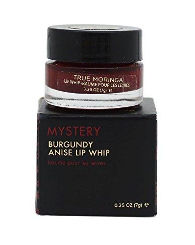 True Moringa Mystery Burgundy Anise Lip Whip, 0.25 Ounce