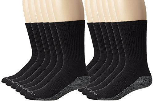 dickies-mens-dri-tech-comfort-crew-socks-big-tall-black-12-pair