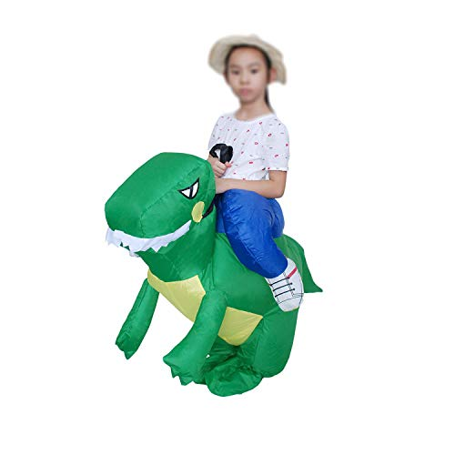 (Children Inflatable Dinosaur Costumes Holiday Carnival Costume Women Men Funny Party Animal Cosplay for Adult)