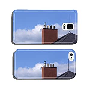 new renovated brick chimney on the house cell phone cover case Samsung S5