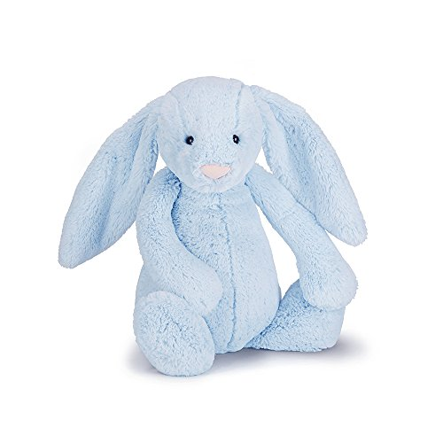 Jellycat Bashful Blue Bunny, Large – 14 inches