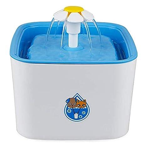 2660/5000 Dispensador de agua para fuente de mascotas, 2.5LSuper Dispensador de agua