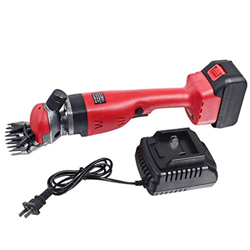 18V 300W Rechargeable Wireless Electric Sheep Shears Goat Clippers With Battery