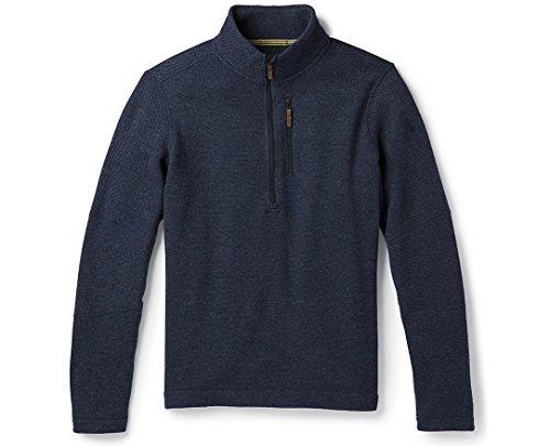 SmartWool Men's Hudson Trail Fleece Half Zip Sweater Navy M ()