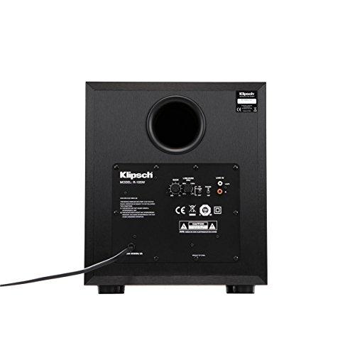 Best price for Klipsch Reference R-10SW Surround Subwoofer, 300 Watts Peak Power,(Brushed Black Vinyl, 10-Inch)