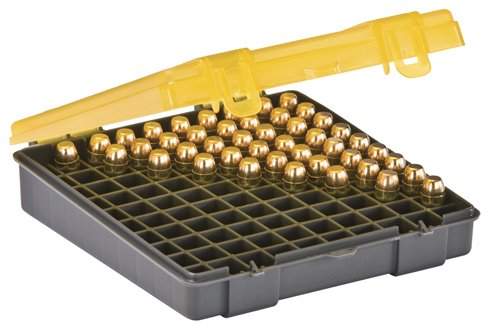 Plano 100 Count Handgun Ammo Case (for.45,.40 and 10mm Ammo)