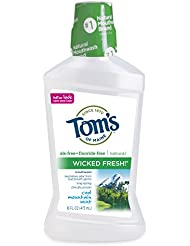 Tom's of Maine Natural Wicked Fresh! Mouthwash, Cool...