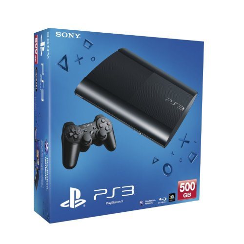 (Sony PlayStation 3 500GB Console - SPANISH PACKAGING + SPANISH MANUAL)