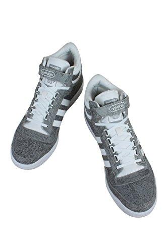 adidas Männer Concord II Mid Originals Basketballschuh Grau weiß