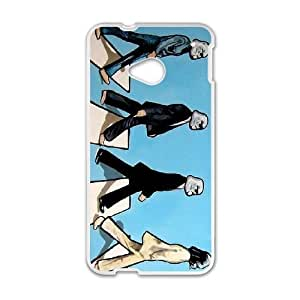 HTC One M7 Cell Phone Case White The Beatles vmvs