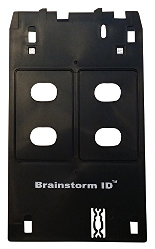 Inkjet PVC Card Tray for Canon J Tray Printers - Canon PIXMA MX922, MG7720, MG5420, MG7120, iP7230, and More by Brainstorm ID