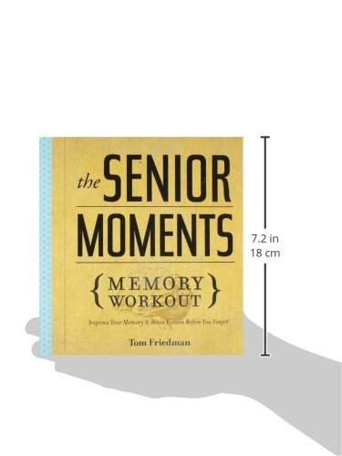 The Senior Moments Memory Workout Improve Your Memory