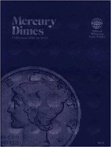 [0307090140] [9780307090140] Coin Folders Dimes: Mercury, 1916-1945 (Official Whitman Coin Folder)- Hardcover