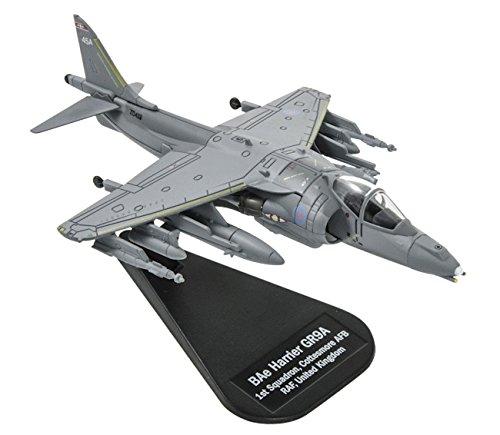 [BAe Harrier GR9A 1/100 Scale Die-cast Model Airplane] (Harrier Toy)