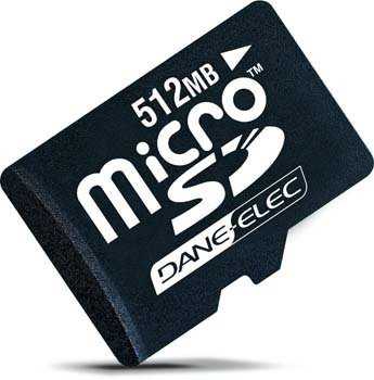 Dane-Elec Micro SD 512MB Memoria Flash 0,5 GB MicroSD ...