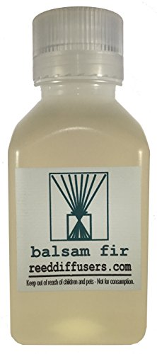 Balsam Fir Fragrance Reed Diffuser Oil Refill - 8oz - Made in the USA