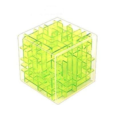 Laberinto 3d Puzzle Caja Rompecabezas Juego Cubo Laberinto