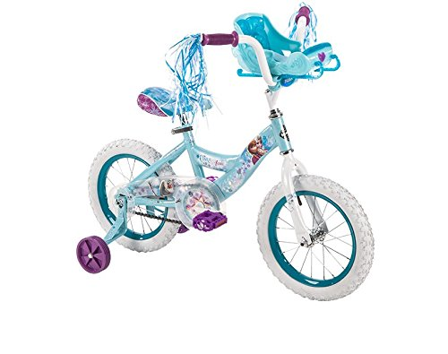 Girls' 14 Huffy Frozen Bike with sleigh by Huffy   B018S0066Q