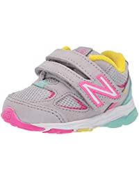Kids' 888v2 Hook and Loop Running Shoe