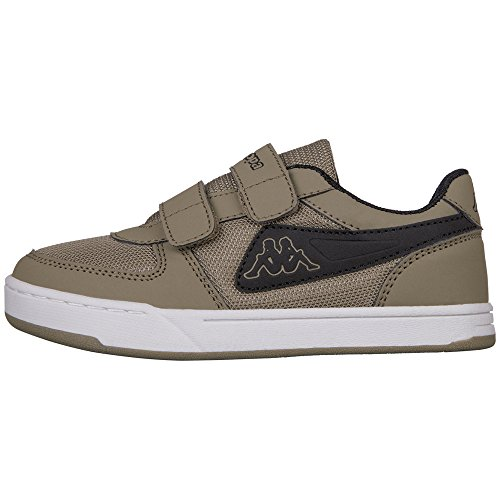 Kappa Trooper Light Sun Kids, Zapatillas Unisex Niños Grün (3111 army/black)