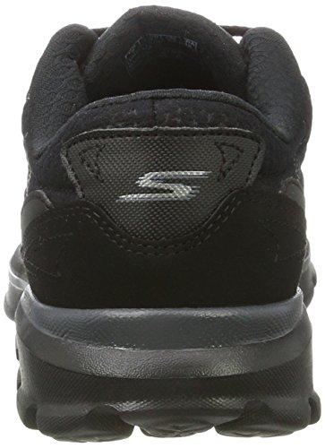 Skechers Rendimiento Go Walk 3 Compete zapato con cordones Caminar Black