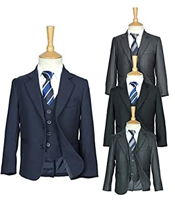 All in One Boys Communion Suits in Navy, Grey, Dark Grey, Black, Design in Italy, 12 Months to 14 Years