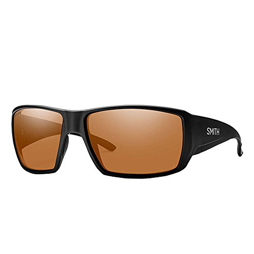 Smith Guides Choice ChromaPop Polarized Sunglasses, Matte Black, Copper - Guide Sunglasses