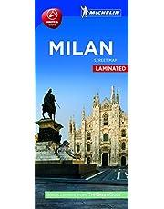 Milan Plan de ville plastifiés