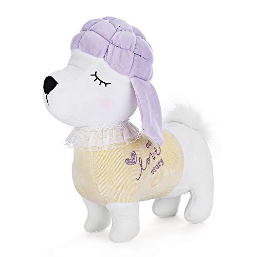 MeToo Zodiac Dog Plush Toy Puppy Doll Gifts (Yellow)