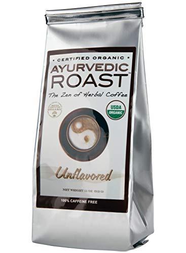 Ayurvedic Roast – Top Caffeine Free Certified Organic Coffee Substitute – Natural Grain Beverage and Herbal Blend that…