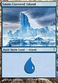 Magic: the Gathering - Snow-Covered Island - Coldsnap - ()